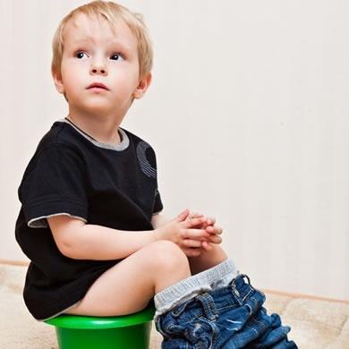 Problemas de control de esfínteres infantil