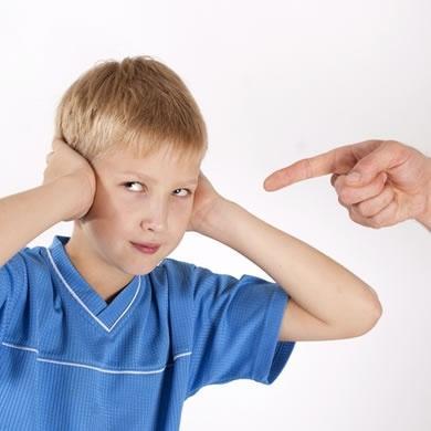 Problemas de comportamiento infantil