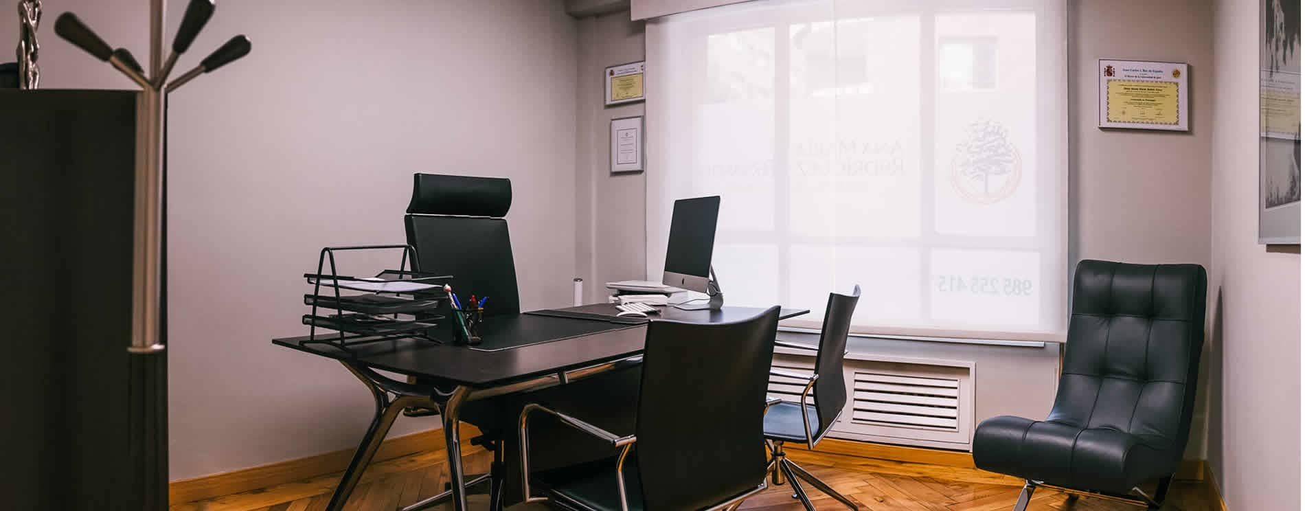 Interior del centro de psiocología Ana María Rodróguez